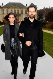 Natalie Portman - Christian Dior Fashion Show in Paris, January 2015