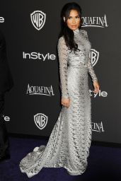 Naya Rivera - Instyle and Warner Bros 2015 Golden Globes Party