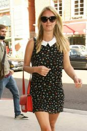 Nicky Hilton is Stylish - at the Anastasia Salon in Beverly Hills - Jan. 2015
