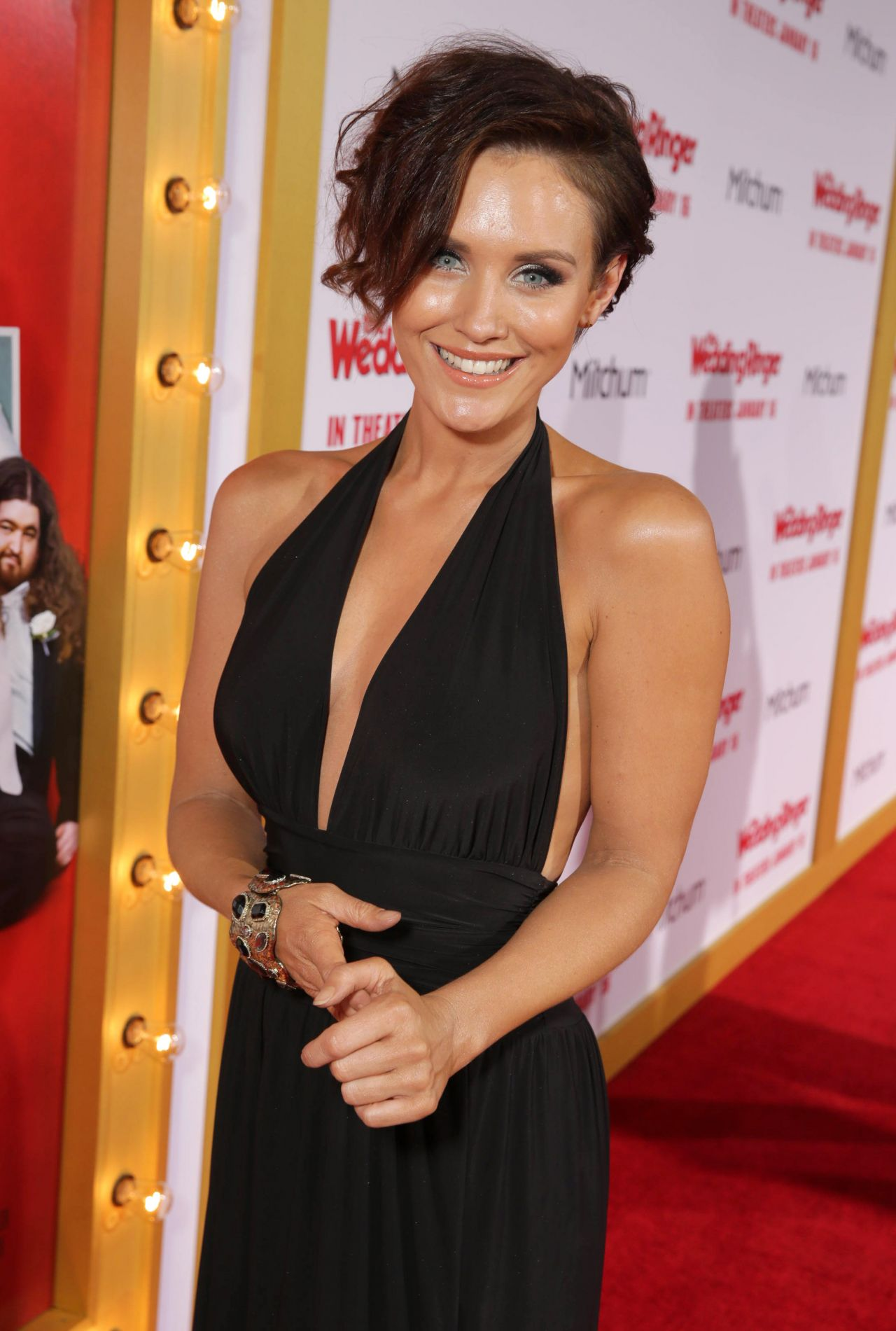 The Wedding Ringer.Nicky Whelan The Wedding Ringer Premiere In Hollywood