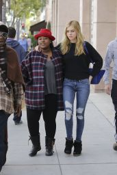 Nicola Peltz in Ripped Jeans - Out in Beverly Hills, January 2015