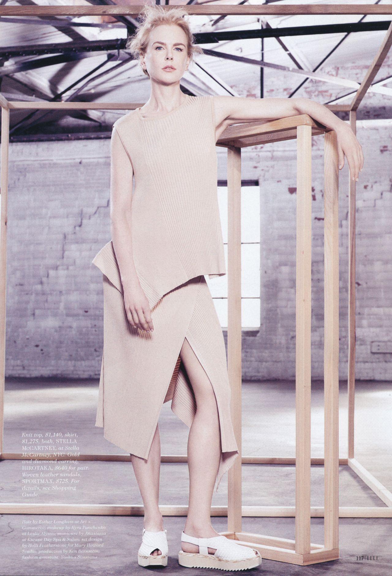 Nicole Kidman - Elle Magazine January 2015 Issue
