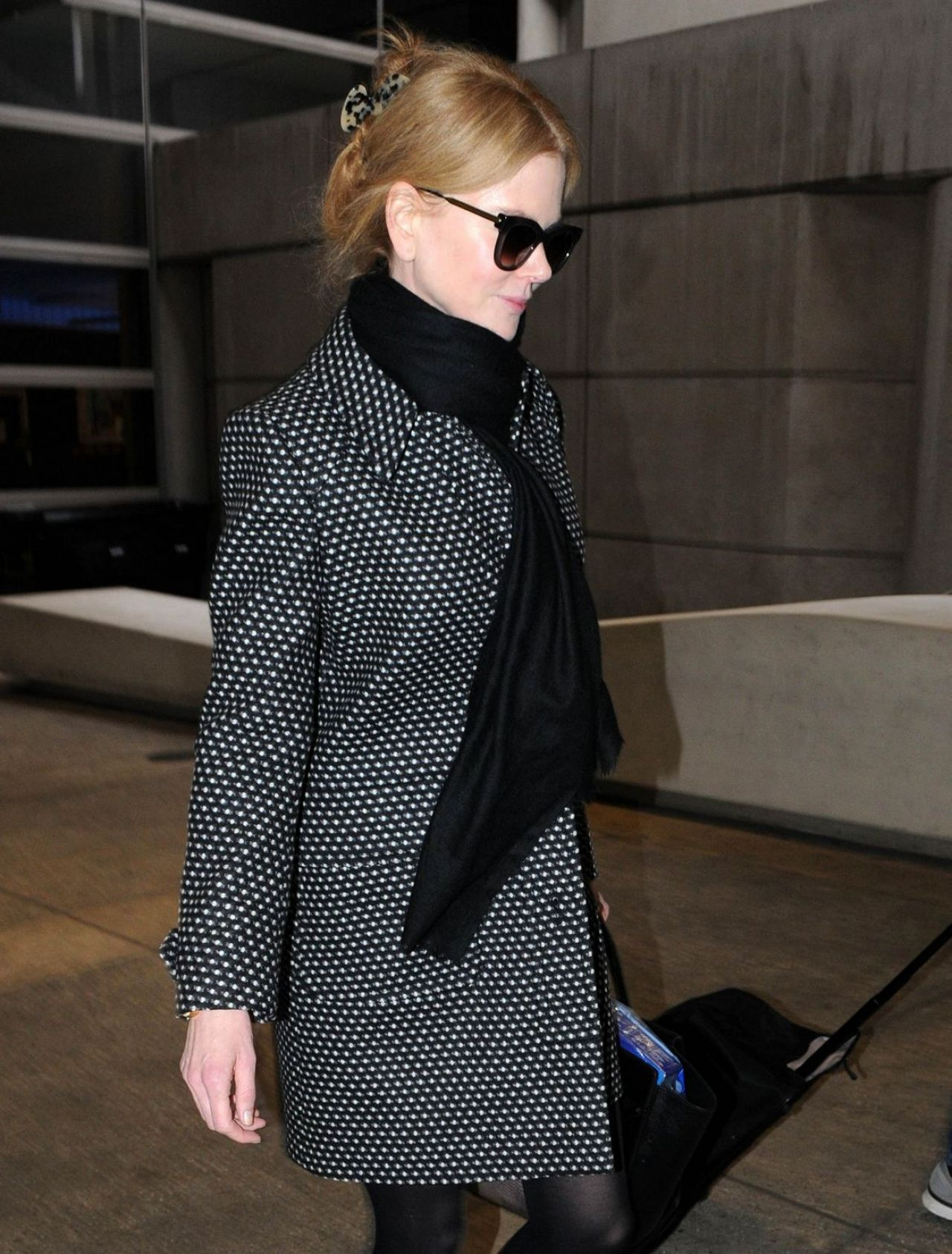 Nicole Kidman Style - at LAX Airport - January 2015