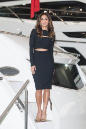 Nicole Scherzinger at the London Boat Show 2015 at ExCel in London
