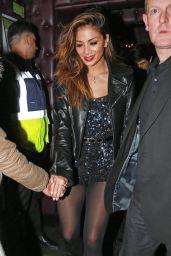 Nicole Scherzinger - Night Out Style, London - January 2015
