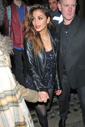 Nicole Scherzinger - Night Out Style, London - January 2015