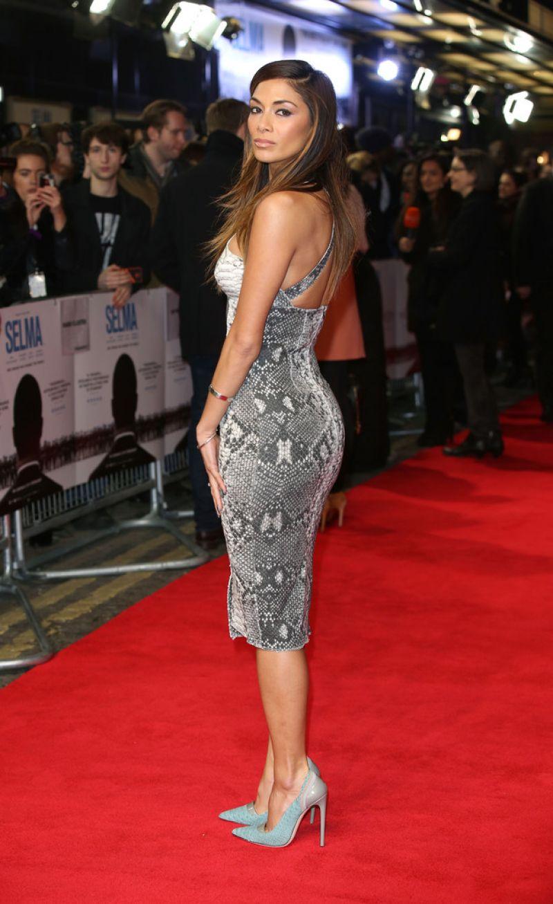 Nicole Scherzinger Red Carpet Pics Selma Premiere In