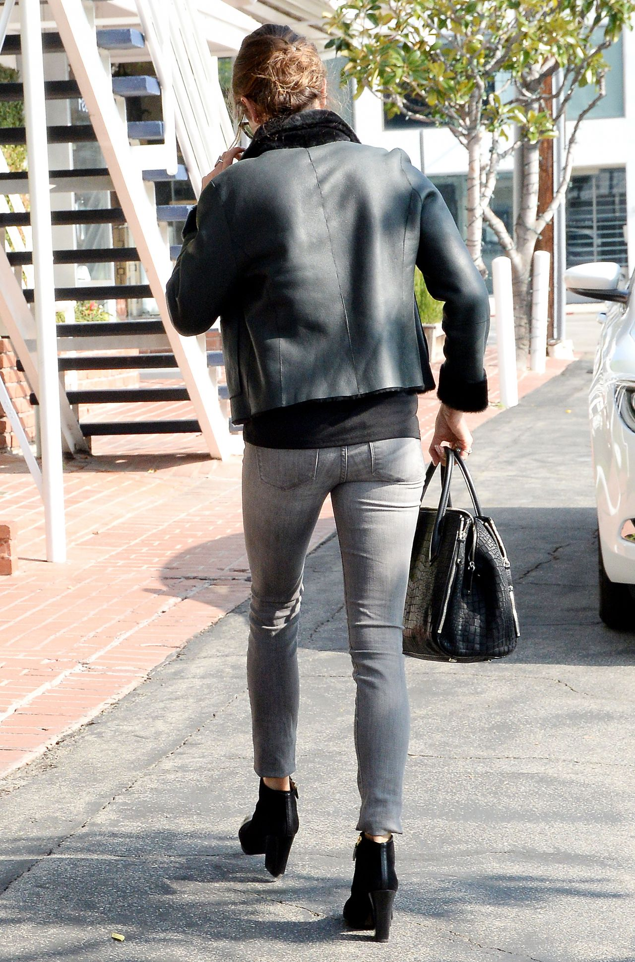 Nikki Reed Casual Style Out In Los Angeles January 2015