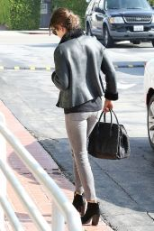 Nikki Reed Casual Style - Out in Los Angeles, January 2015