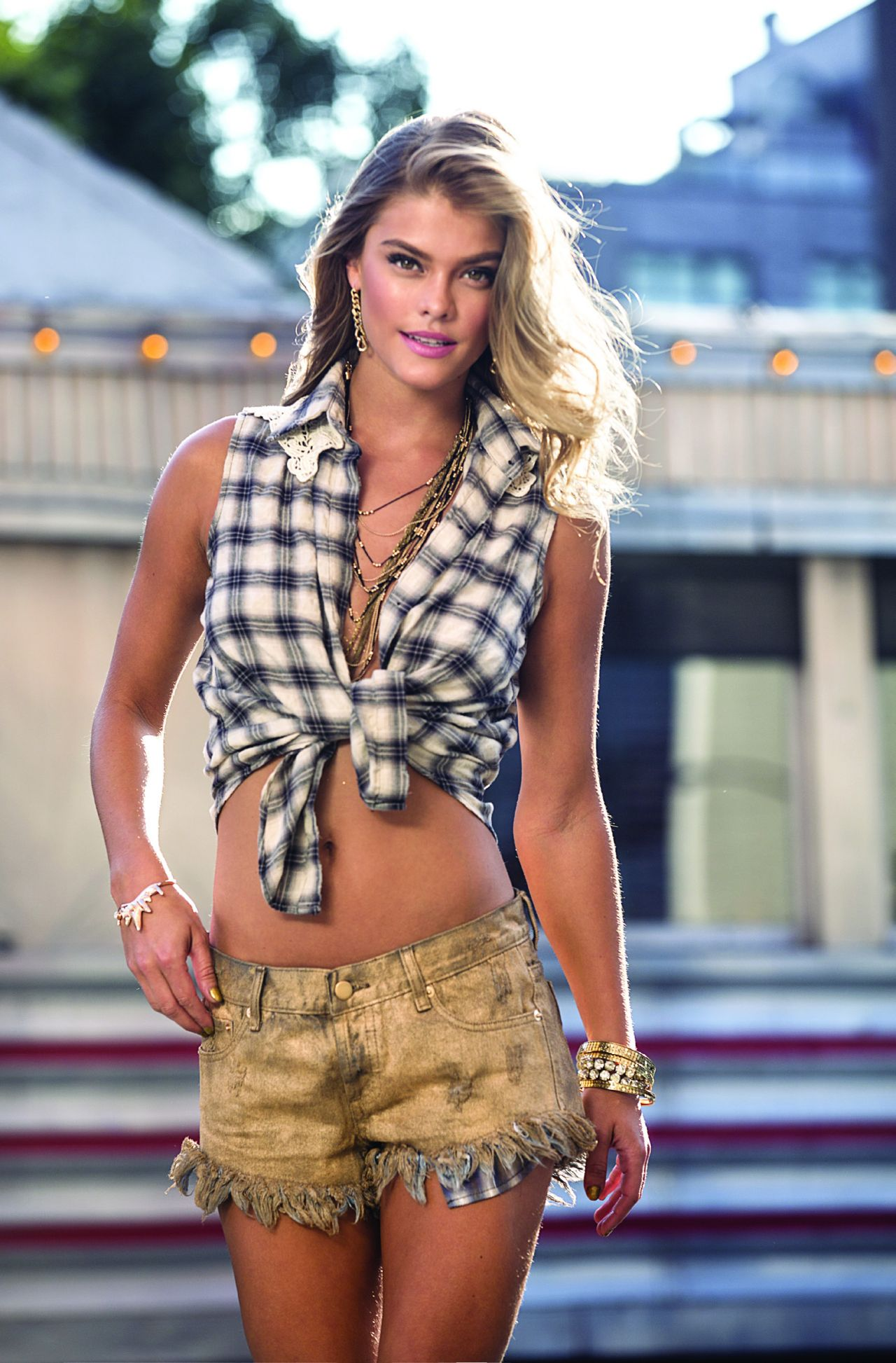Nina Agdal - Sunaj : Lookbook - Spring - Summer 2015