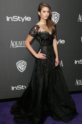 Nina Dobrev – InStyle and Warner Bros 2015 Golden Globes Party