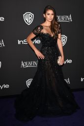 Nina Dobrev – InStyle and Warner Bros 2015 Golden Globes Party