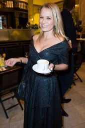 Nova Meierhenrich - MBFW-Grazia Pop Up Breakfast In Berlin - January 2015