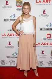 Olivia Holt - LA Art Show 2015 Opening Night Premiere Party