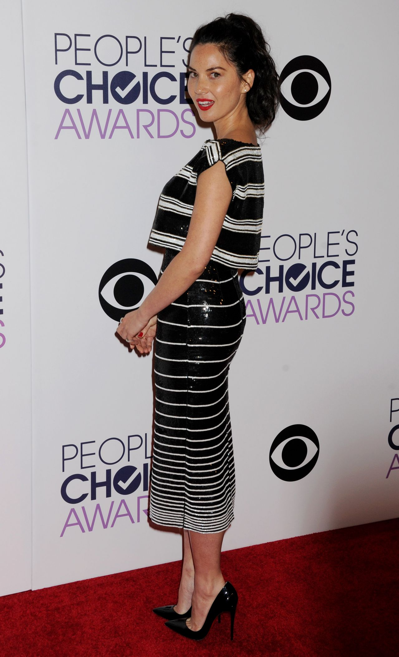 Olivia Munn 2015 Lingerie a Peoplea s Choice Awards in Los ...