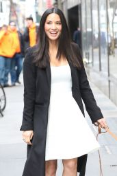 Olivia Munn - Walking Her Dog in New York City, January 2015