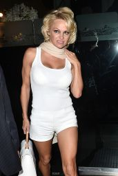 Pamela Anderson at Mr. Chow in Los Angeles - January 2015