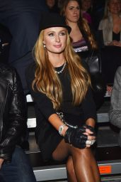 Paris Hilton Style - Dsquared2 Show, Milan Menswear Fashion Week Fall-Winter 2015/2016
