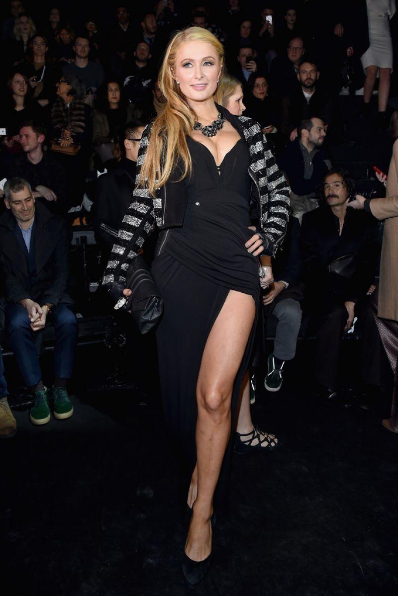 Paris Hilton Style Philipp Plein Fashion Show In Milan January 2015