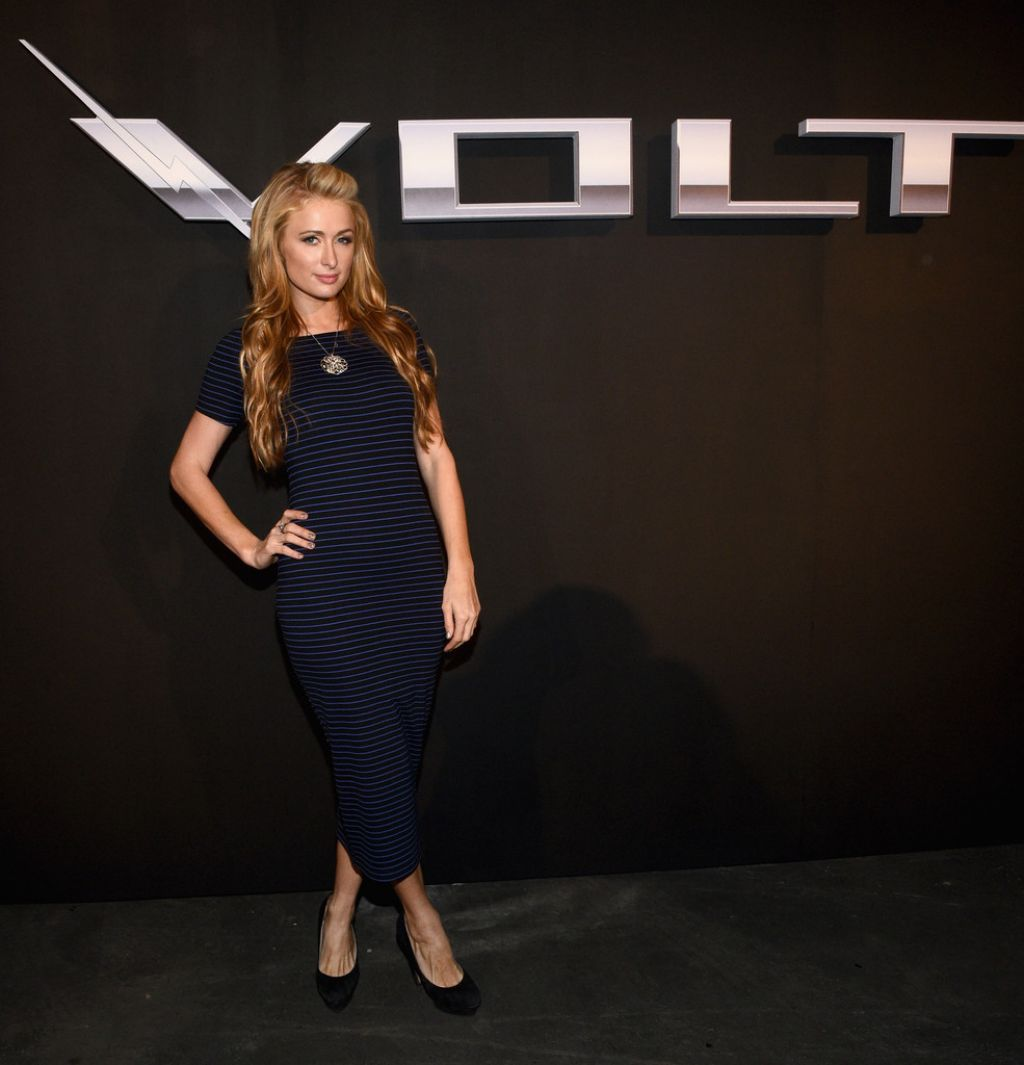 Paris Hilton - West Coast Reveal Of The New 2016 Next Generation Chevrolet Volt