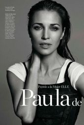 Paula Echevarría - Elle Magazine (Spain) Febuary 2015 Issue