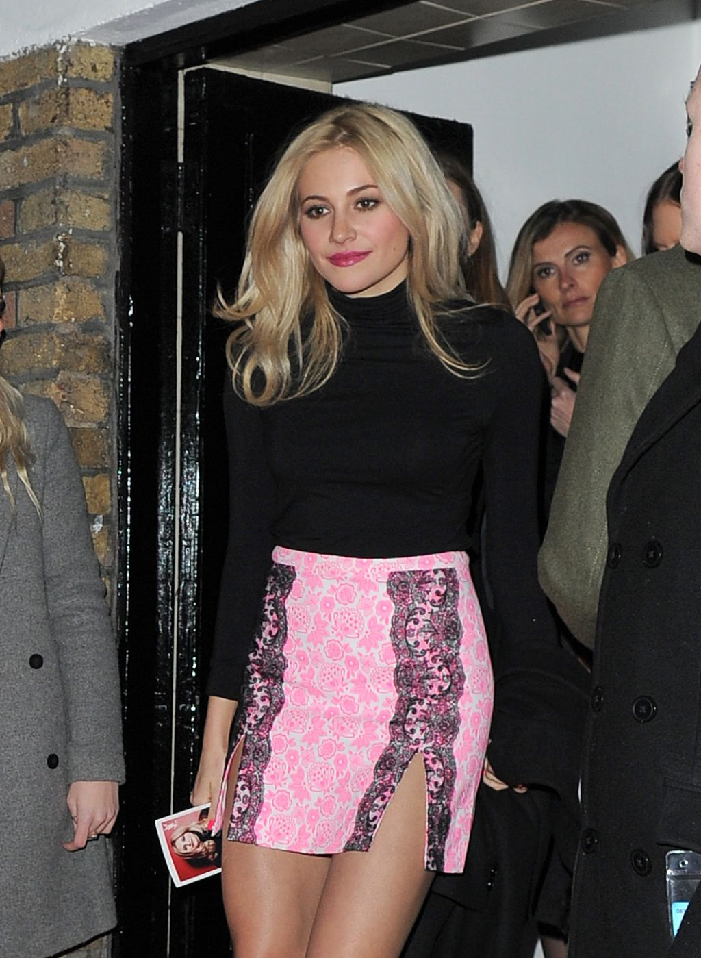 Pixie Lott - YSL Loves Your Lips Launch in London - January 2015
