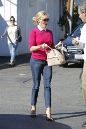 Reese Witherspoon Style - Leaving Her Office in Beverly Hills, Jan. 2015