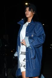 Rihanna - at Her Favorite Restaurant Giorgio Baldi in Santa Monica, January 2015