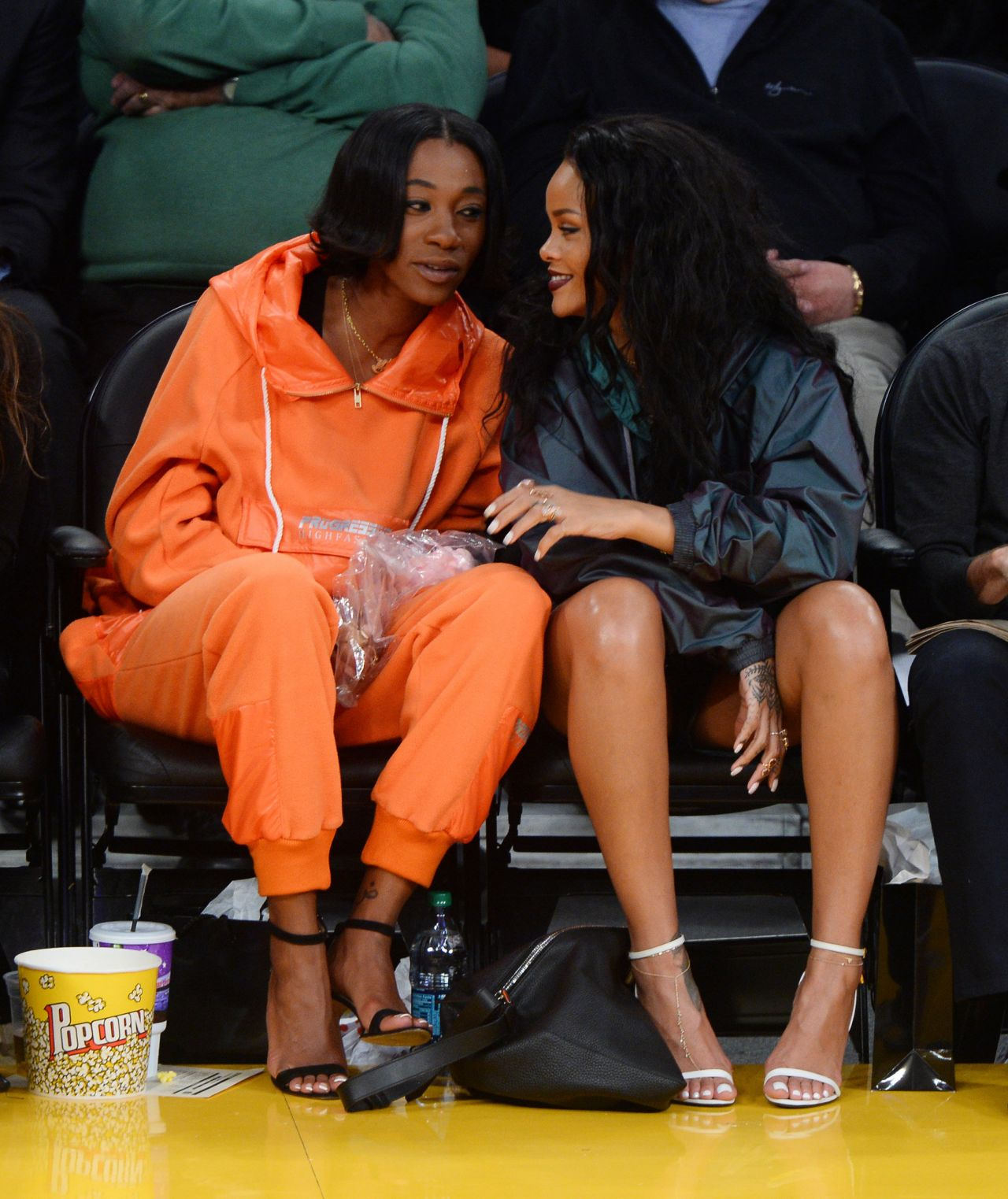 Rihanna LA - 2015 Celebrity Photos - Lakers VS Cleveland Cavaliers ...