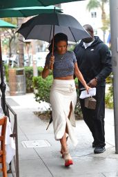 Rihanna Style - Out in Beverly Hills, January 2015