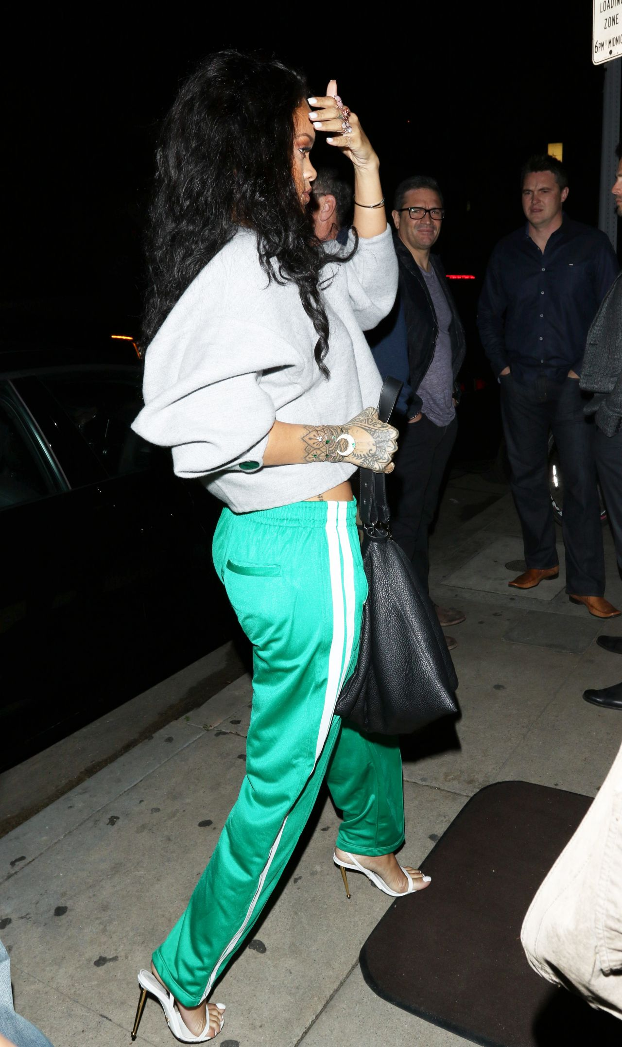 rihanna style out in los angeles january 2015