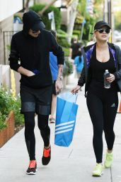 Rita Ora in Spandex - Out in Los Angeles, January 2015