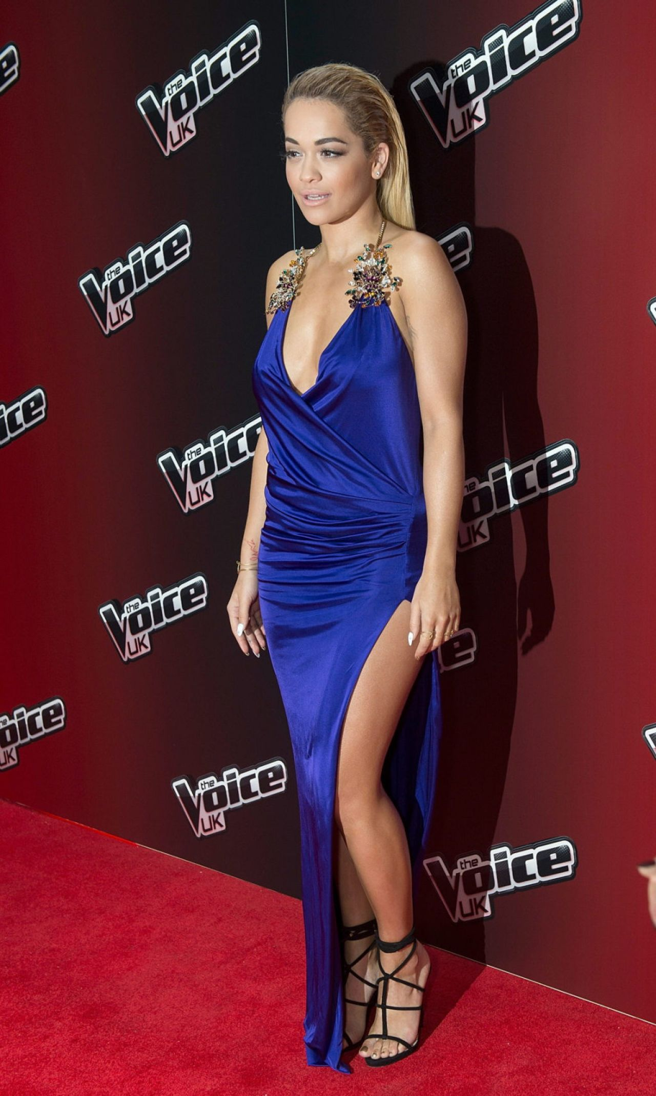 Rita Ora The Voice Uk Series 4 Launch Photocall In London
