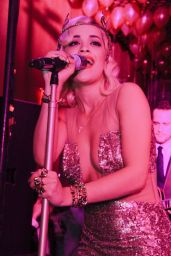 Rita Ora – Top Of The Standard New Years Eve Party in New York City