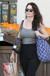 Robin Tunney - Out in West Hollywood - January 2015