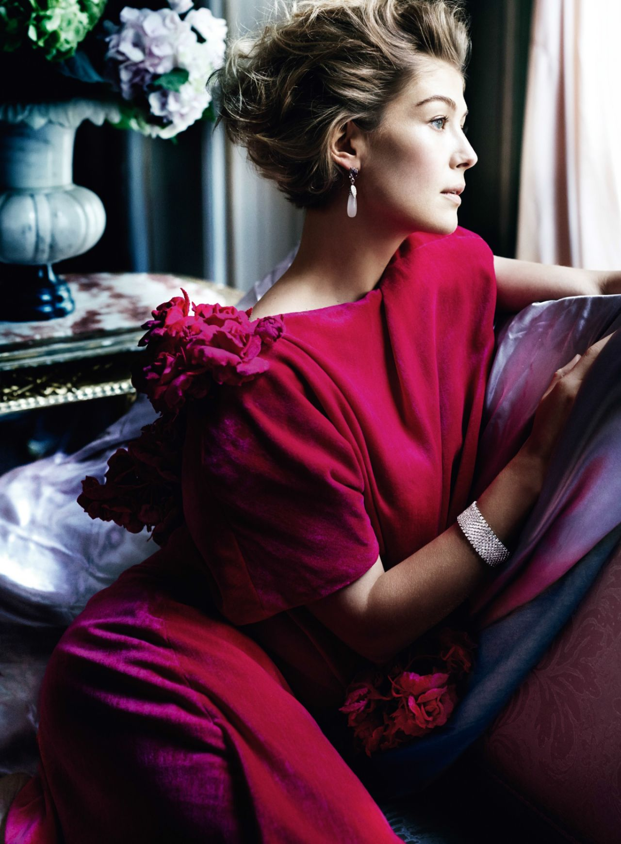 Rosamund Pike - Photoshoot for Vanity Fair Magazine February 2015