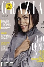 Rosario Dawson - Grazia Magazine (France) - January 2015 Issue