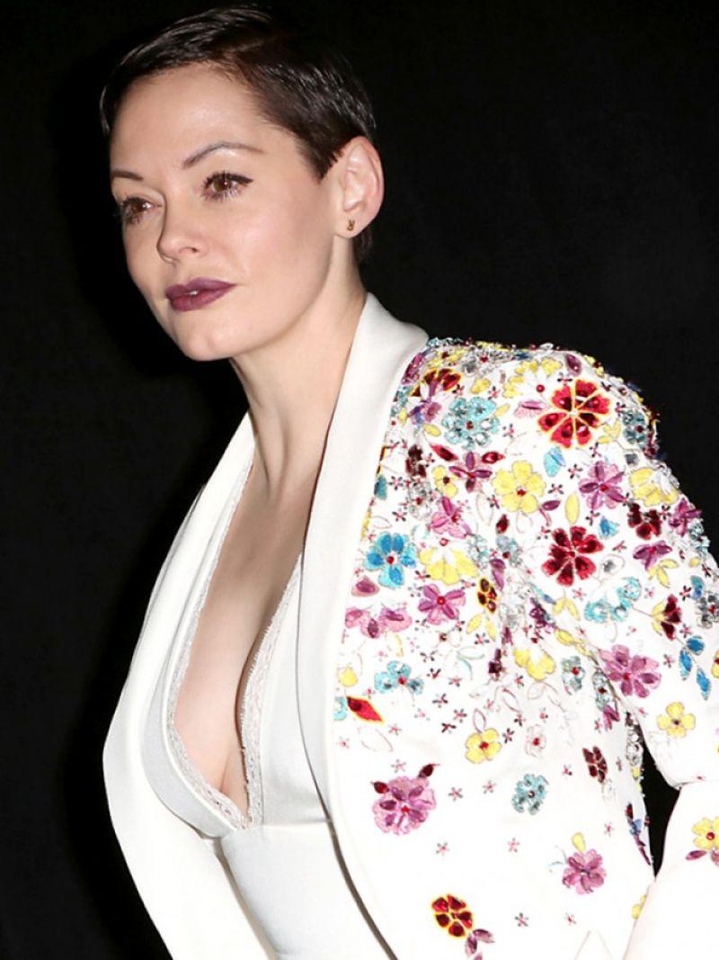Rose Mcgowan At Zuhair Murad Fashion Show In Paris