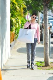 Rose McGowan - Out in West Hollywood - January 2015