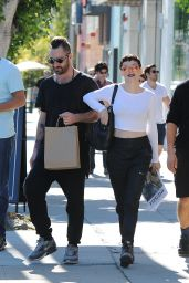Rose McGowan Pictures - Out in Los Angeles, January 2015