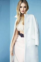 Rosie Huntington-Whiteley Photoshoot– ELLE Magazine (UK) – February 2015