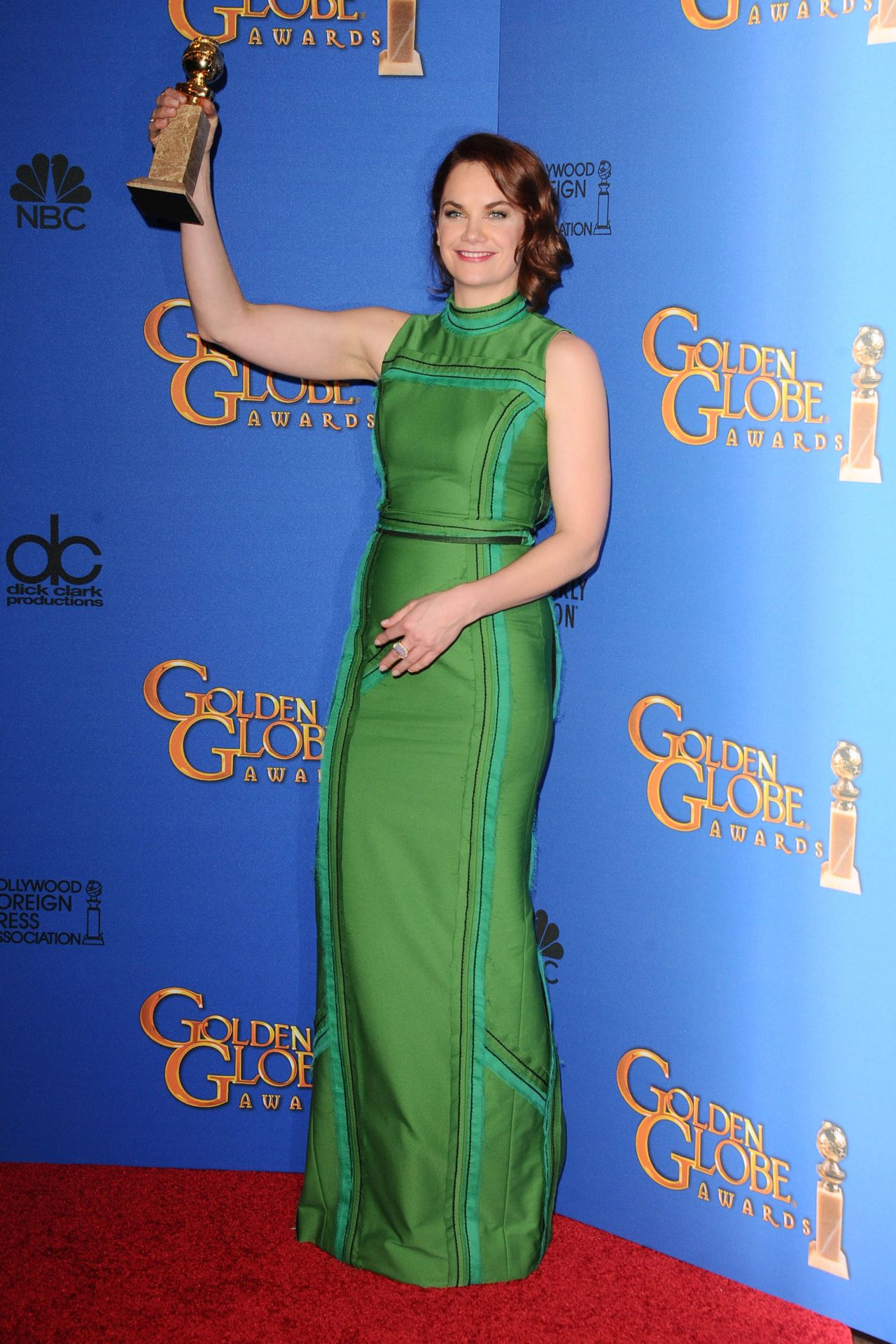 Ruth wilson 2015 golden globe awards in beverly hills