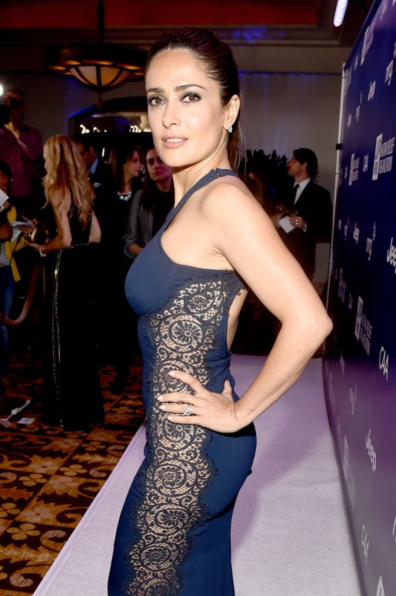 Salma Hayek – 2015 Sean Penn & Friends HELP HAITI HOME ... Charlize Theron Children