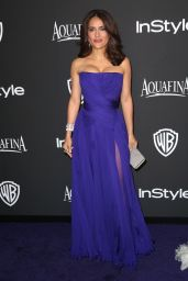 Salma Hayek – InStyle And Warner Bros 2015 Golden Globes Party