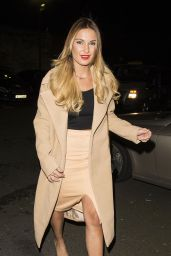 Sam & Billie Faiers with Ferne McCann - Celebrating Billie