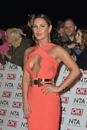 Sam Faiers – 2015 National Television Awards in London