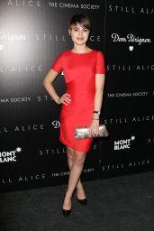 Sami Gayle in Red Dress -