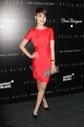 Sami Gayle in Red Dress -