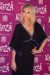 Sarah Harding – Cirque du Soleil Kooza Press Night, January 2015