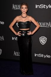 Sarah Hyland – InStyle And Warner Bros 2015 Golden Globes Party